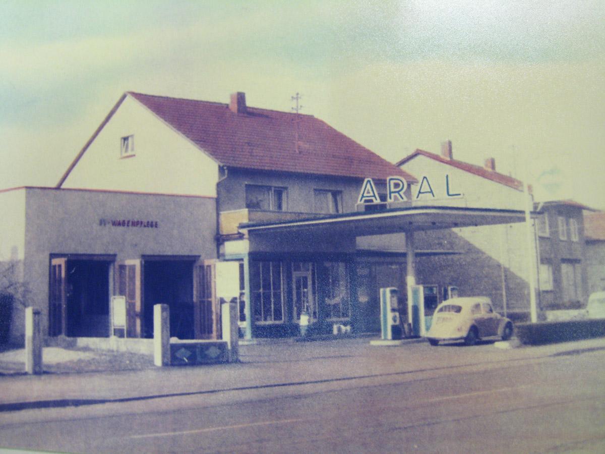Das Autohaus im Jahr 1964
